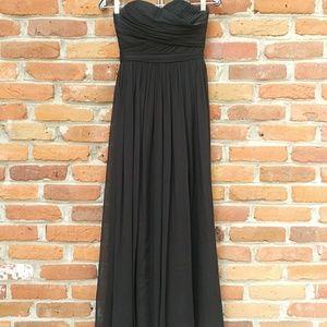 J.Crew Arabelle Long Silk Chiffon Dress
